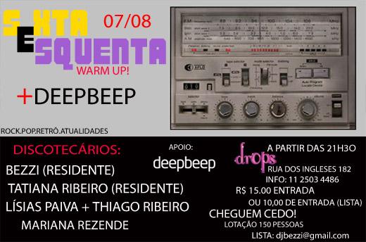 sextaesquenta+deepbeep